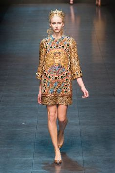Dolce & Gabbana - Milan, automne hiver 2013