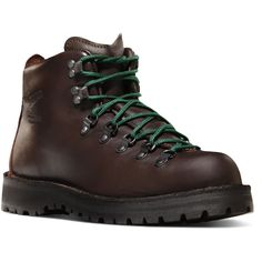 "Classic Hiking boot. Danner - Mountain Light II 5"" Brown"