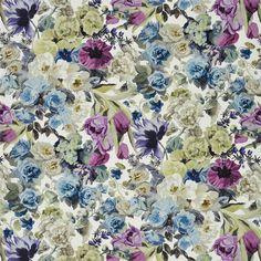 Orangerie II - Amethyst Fabric   Designers Guild