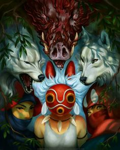 Sam - Princess mononoke