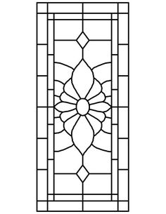★ Stained Glass Patterns for FREE ★ glass pattern 070 ★