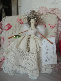 Handmade Christmas fairy