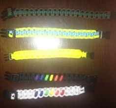 Cobra bracelets with clasp - $7.00ea