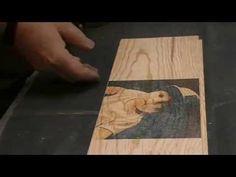Astuce : Comment imprimer sur du bois et le vernir …… Kastepat - YouTube