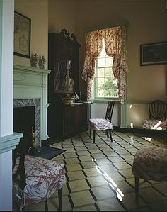 Homewood House ~ 1801 House In The Woods, French Interiors, House Interiors, Flooring, Stock Photos, Room, French Style, Inspiration, 19th Century