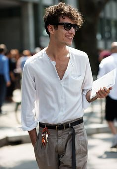 http://www.thesartorialist.com/photos/mens-summer-trend-white-band-collar-shirts/