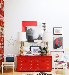 Stuck with hand-me-down furniture that you don't want to replace just yet? We spoke to four designers on how to make these pieces work in your décor.