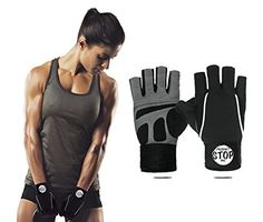 Best Fingerless Weight Lifting Gloves with Wrist Wrap Support for Men or Women A Perfect Pair of Sports Gloves for Weightlifting Crossfit Working Out or Exercise medium -- Visit the image link more details. (Note:Amazon affiliate link)