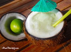 Lime In De Coconut - absolutely rumlicious! Click for the recipe!