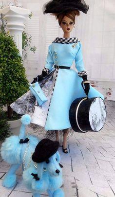 "OOAK Silkstone Vintage Barbie Handmade 12"" Fashion Royalty Poppy Parker / Mary"
