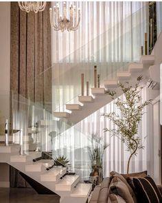 Home Stairs Design, Home Room Design, Dream Home Design, Modern House Design, Home Interior Design, Exterior Design, Dream House Interior, Luxury Homes Dream Houses, Interior Stairs
