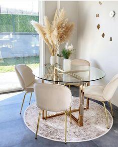 Decor Home Living Room, Home Decor Furniture, Home And Living, Home Room Design, Dining Room Design, Home Interior Design, Apartment Living, Home Decor Inspiration, Condo