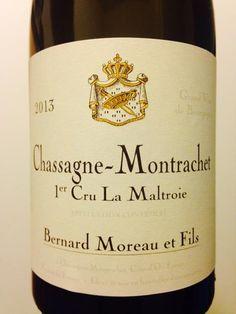 2012 Domaine Bernard Moreau & Fils Chassagne-Montrachet 1er Cru La Maltroie