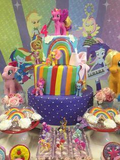 I Little Pony Cake, Pony Party, Birthday Cake, Bar, Desserts, Food, Meet, Party, Tailgate Desserts