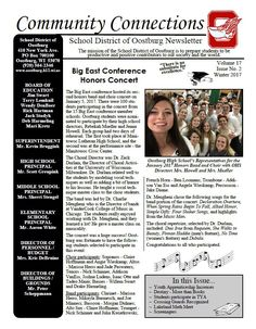 Winter 2017 District Newsletter is now Available http://oostburg.k12.wi.us/district-news/winter-2017-district-newsletter-is-now-available/