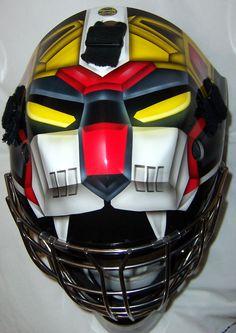 Voltron goalie mask, Black Lion