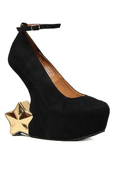 The Starynite Shoe in Black by Jeffrey Campbell. I love these Shoes, and you can get them at MissKL for $113.95 plus an additional 20% off when you use the RepCode: ZhanaSentMe   at the check out.