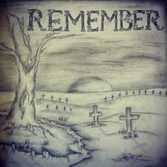 Draw Charcoal Remembrance day contest winner old drawing charcoal and pen 3d Pencil Drawings, Dark Art Drawings, Easy Drawings, Charcoal Drawings, Remembrance Day Drawings, Remembrance Day Poems, Easy 3d Drawing, Drawings Pinterest, Really Cool Drawings