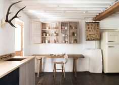 """Sebastian Cox's """"urban rustic"""" kitchen for DeVol features sawn and woven timber."""