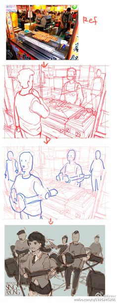 Perspective Drawing Lessons, Perspective Sketch, Art Sketches, Art Drawings, Character Art, Character Design, Comic Tutorial, Comic Layout, Comic Drawing
