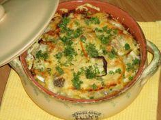 рыба в духовке с овощами и сыром