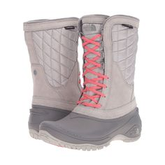 THE NORTH FACE Thermoball Utility Mid Women | Dove Grey/Calypso Coral
