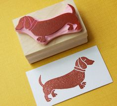 wiener dog stamps!!!!