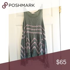 Free People Slip Dress XS Free People Slip Dress. Looks VERY cute and flattering on. It is extremely comfortable and flowy :) NEVER WORN BEFORE but took off tag when purchased Free People Dresses Strapless