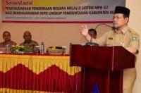Ratusan Bendahara SKPD Lingkup Pemkab Bengkalis ikuti Sosialiasi MPN G-2 - Amanah Anak Negeri