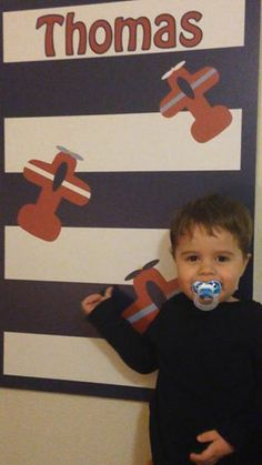 Cool Corks for all ages.  Thomas loves his airplane bulletin board! www.coolcorkboards.com