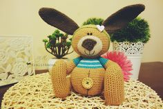 Crochet bunny - my own pattern