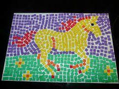 mosaic patterns - tree of kabbalah. mosaic artwork - the golden shell - handmade mosaic art - mosaic designs - mosaic patterns - mosaic mural Art Projects For Teens, Art For Kids, Mosaics For Kids, Mosaic Art Projects, Mosaic Ideas, Paper Mosaic, Mosaic Flower Pots, Pop Art Wallpaper, Roman Art