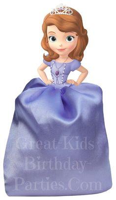 DIY Disney Princess Party Favors - Sofia the First Favor Bags