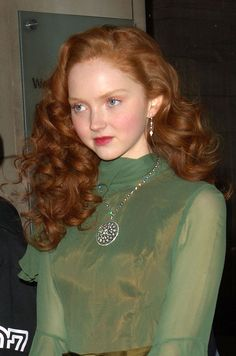 Lilly Cole at the Victoria & Albert Museum in London, United Kingdom. (Photo by Jamie Tregidgo/WireImage) Lily Cole, Pure Beauty, Beauty Women, Wavy Hair, New Hair, Red Hair Day, Red Hair Model, Curly Hair Styles, Natural Hair Styles