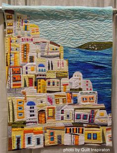 """Thera"" by Donna L. Rice on Quilt Inspiration's Post ""Best of the 2014 Pacific International Quilt Festival : Day 5"""