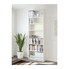 BILLY Boekenkast - wit - IKEA