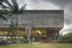 College of Architecture and Urbanism, Sao Paulo University with Carlos Cascaldi. Sao Paulo, Brazil 1961.