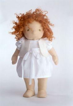 how to weft doll hair | SILKE Dolls | Velvet cushion