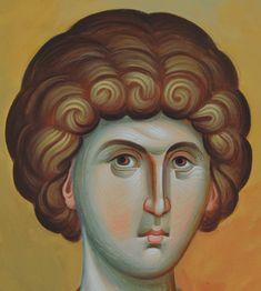Άγιος Γεώργιος / Saint George Paiting, Byzantine Art, Public Domain Images, Image, Painting, Paint Icon, Orthodox Christian Icons, Art, Byzantine