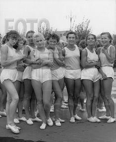 ПЕТЕРСОН Демарест: Спортсмены на стадионе Ленина. Москва