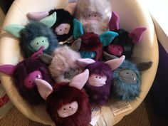 A chairful of Fuzzlings!