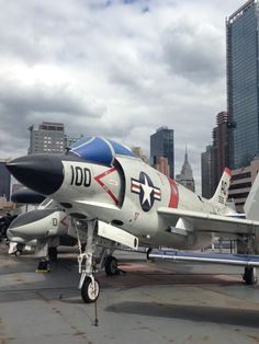F-3B Demon Intrepid Museum, Museums In Nyc, Fighter Jets, Aircraft, Aviation, Planes, Airplane, Airplanes, Plane