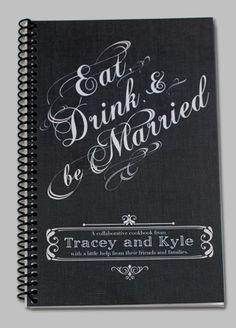 Fun Idea: The Recipe Book Wedding Favor - downtheaisle