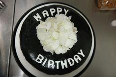 Schwarz -Weiße -Torte