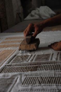 Block print textiles