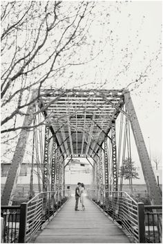 Downtown Denver engagement pictures by Plum Pretty Photography. Colorado engagement photo inspiration.