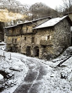 Whitening spring to Carnino Inferiore, Piemonte