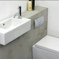 Elle Deco UK Micro WC | modern toiletroom design inspiration by COCOON | modern bathroom taps | bathroom design | renovations | interior design | villa design | hotel design | COCOON Dutch Designer Brand