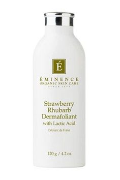 Eminence Organic Skin Care Strawberry Rhubarb Dermafoliant, $48, available at Dermstore. #refinery29 http://www.refinery29.com/facials#slide-5