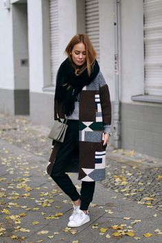 teetharejade » Blog Archive » Outfit: The Graphic Printed Coat